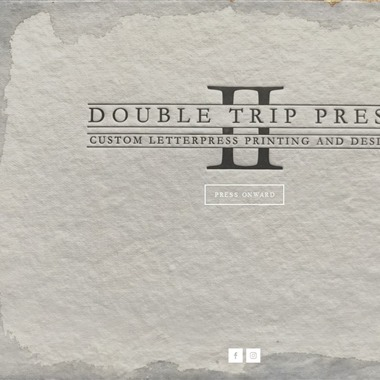 Double Trip Press wedding vendor preview