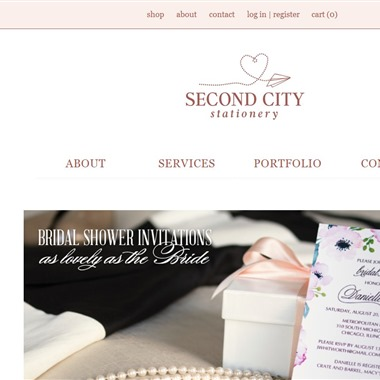 Second City Stationery wedding vendor preview