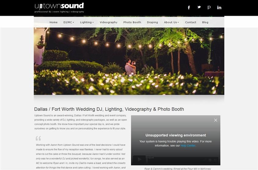 Uptown Sound wedding vendor photo