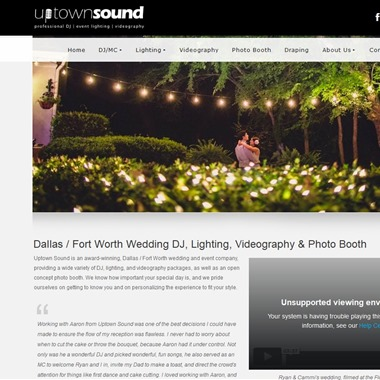 Uptown Sound wedding vendor preview