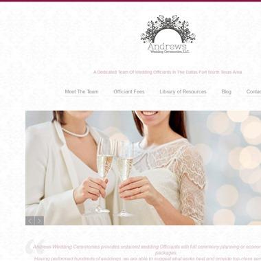 Andrews Wedding Ceremonies LLC wedding vendor preview