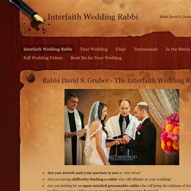 Interfaith Wedding Rabbi wedding vendor preview