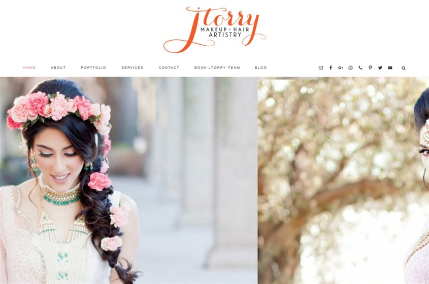 JTorry Makeup and Hair Artistry wedding vendor photo