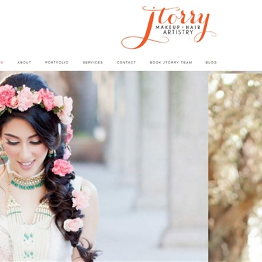 JTorry Makeup and Hair Artistry wedding vendor preview