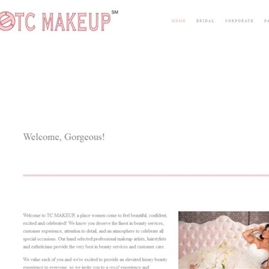 TC MAKEUP wedding vendor preview