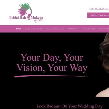 Bridal Hair & Makeup by Edie wedding vendor preview