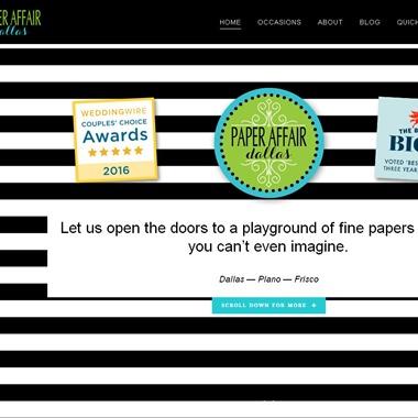 Paper Affair Dallas wedding vendor preview