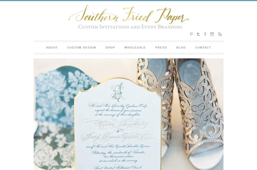 Southern Fried Paper wedding vendor photo