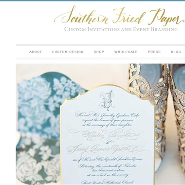 Southern Fried Paper wedding vendor preview