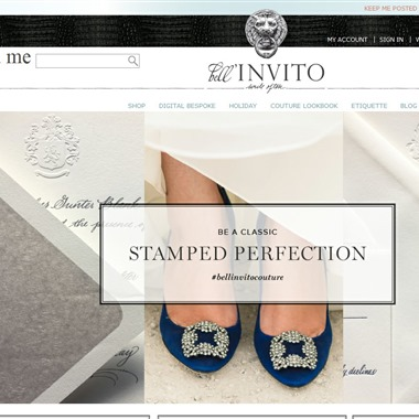 Bell'Invito Stationers wedding vendor preview