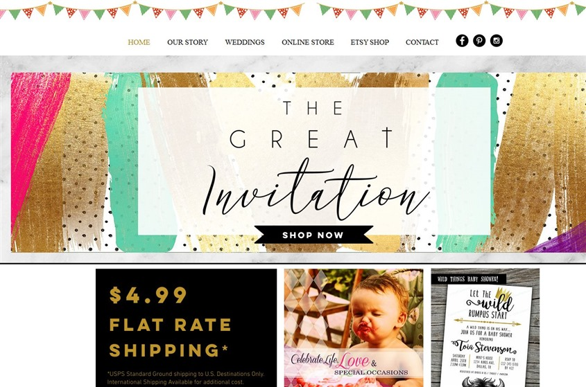 The Great Invitation wedding vendor photo