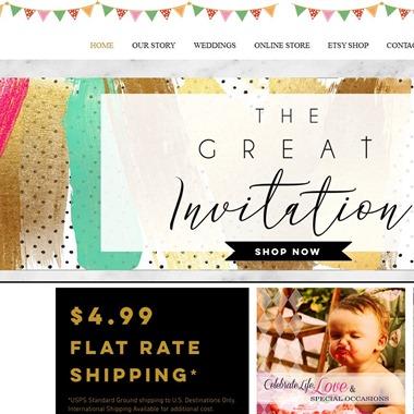 The Great Invitation wedding vendor preview