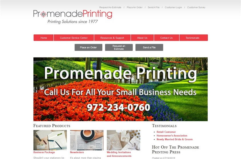 Promenade Printing wedding vendor photo