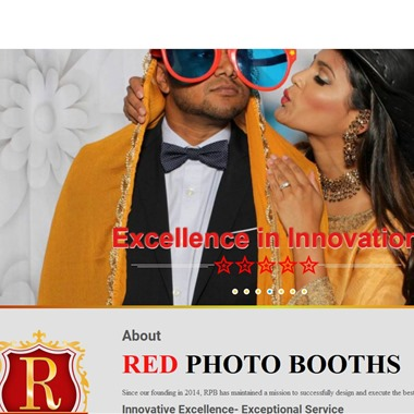 The Red Photo Booths wedding vendor preview
