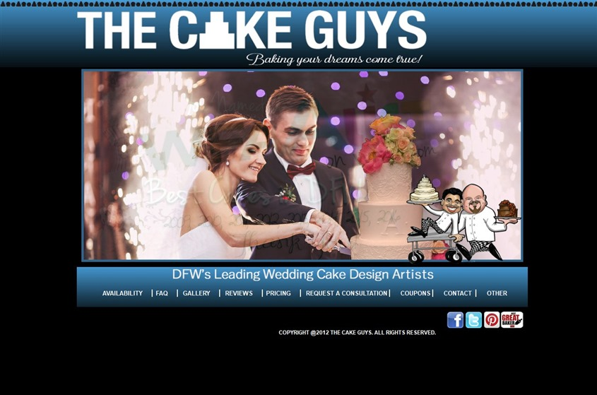 The Cake Guys wedding vendor photo