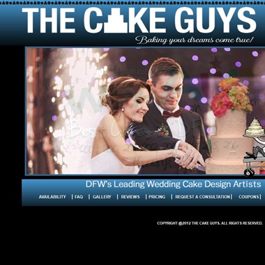 The Cake Guys wedding vendor preview