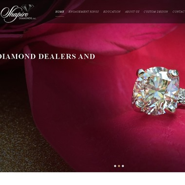Shapiro Diamonds wedding vendor preview
