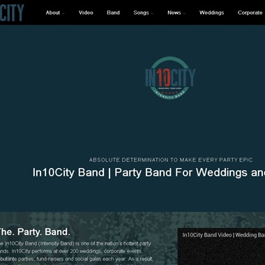 In10City Band wedding vendor preview
