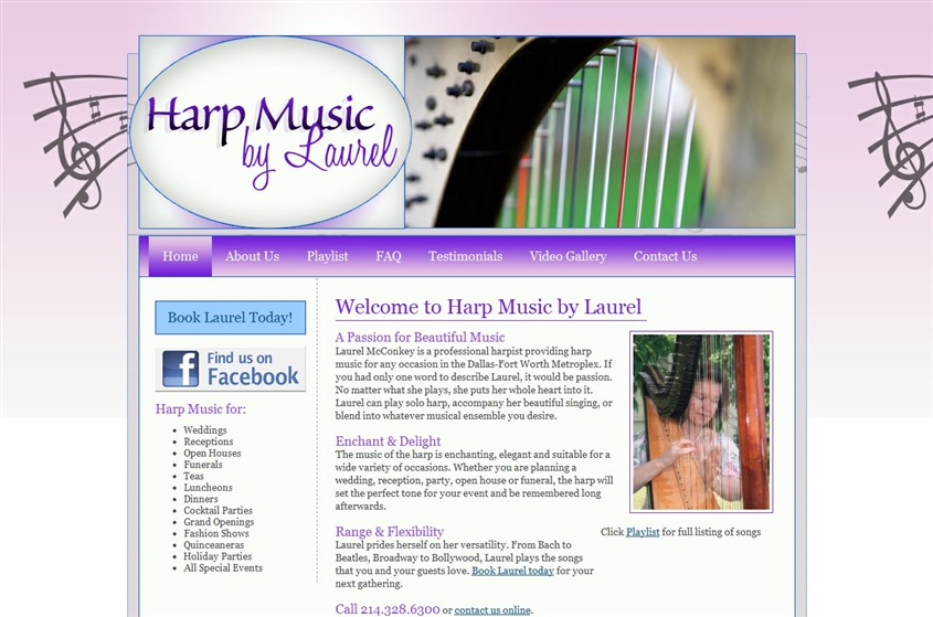 Harp Music by Laurel wedding vendor photo