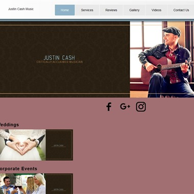 Justin Cash Music wedding vendor preview
