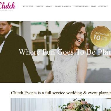 Clutch Events wedding vendor preview