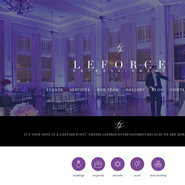 LeForce Entertainment wedding vendor preview