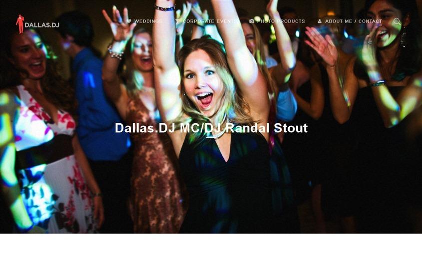 MC/DJ Randal Stout wedding vendor photo