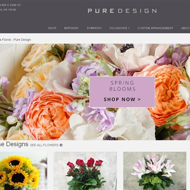 Pure Design wedding vendor preview