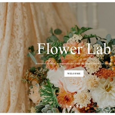 Flower Lab wedding vendor preview