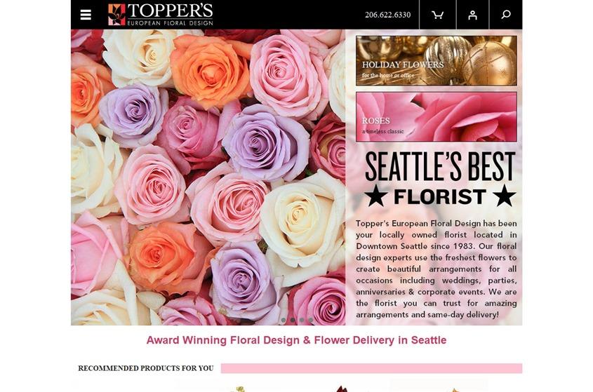 Topper's European Floral Design wedding vendor photo