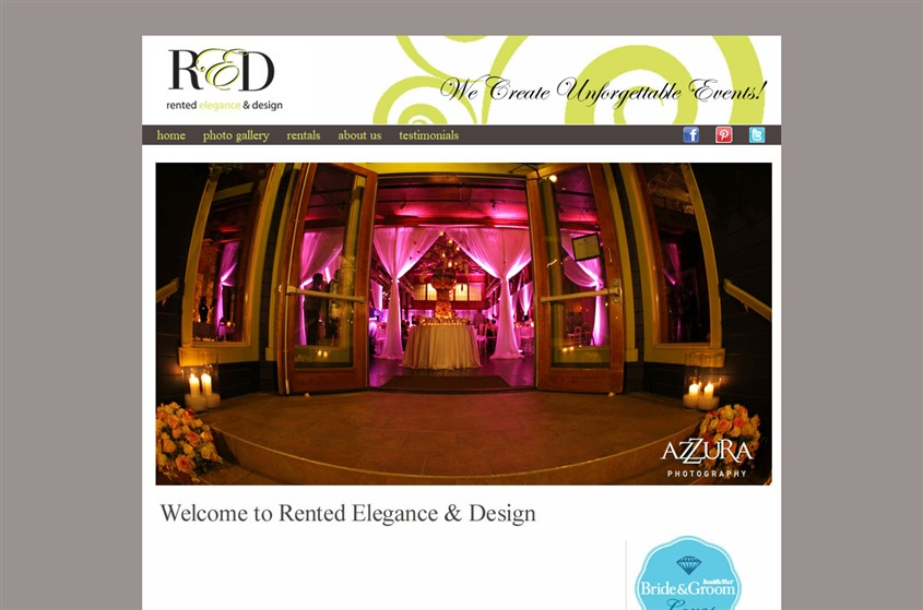 Rented Elegance & Design wedding vendor photo