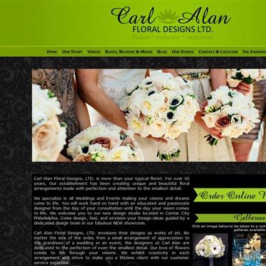 Carl Alan Floral Design wedding vendor preview