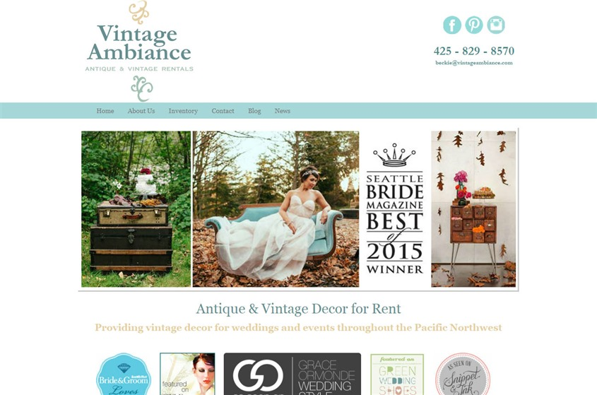 Vintage Ambiance wedding vendor photo