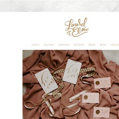 Laurel & Elm wedding vendor preview