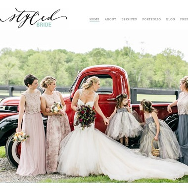 The Styled Bride wedding vendor preview