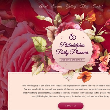 Philadelphia Party Planners wedding vendor preview