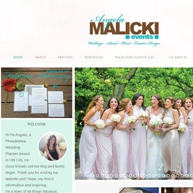 Angela Malicki Events wedding vendor preview