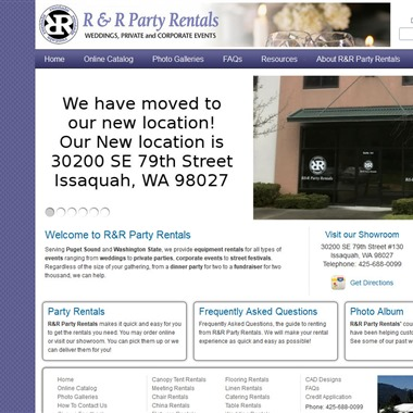 R&R Party Rentals wedding vendor preview