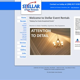 Stellar Event Rentals photo