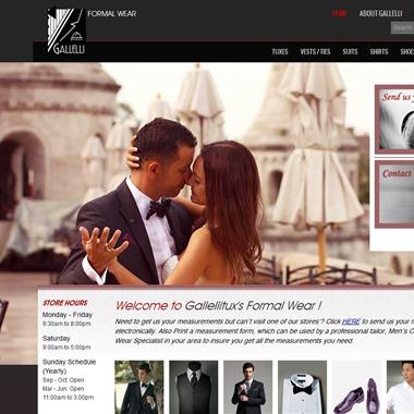 Gallelli Formal Wear wedding vendor preview