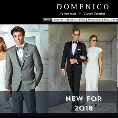 Domenico's Formal Wear wedding vendor preview