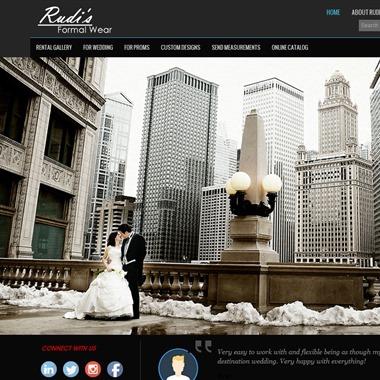 Rudi's Formal Wear wedding vendor preview