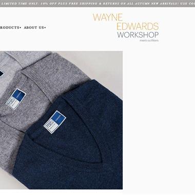 Wayne Edwards Workshop wedding vendor preview