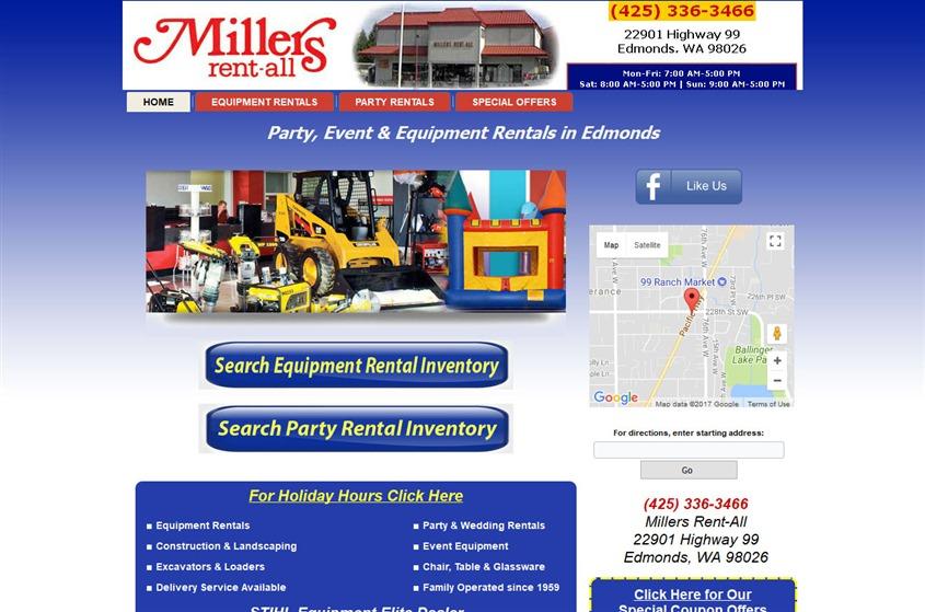 Millers Rent-All wedding vendor photo