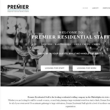 Premier Residential Staff wedding vendor preview