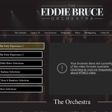 The Eddie Bruce Orchestra wedding vendor preview