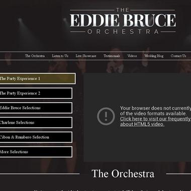 The Eddie Bruce Orchestra wedding vendor preview