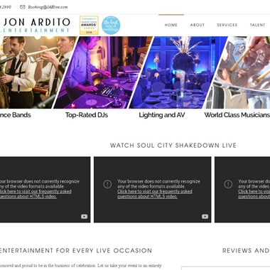 Jon Ardito Entertainment wedding vendor preview