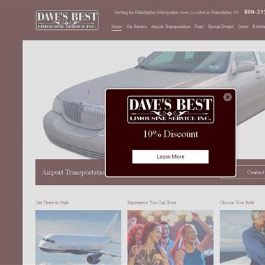 Dave's Best Limousine Service wedding vendor preview