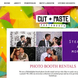 Cut Paste Photo Booth